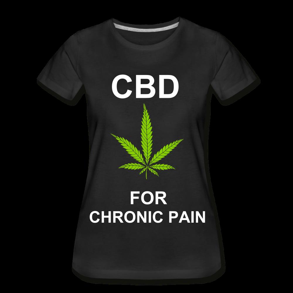 CBD For Chronic Pain Ladies Organic T-Shirt