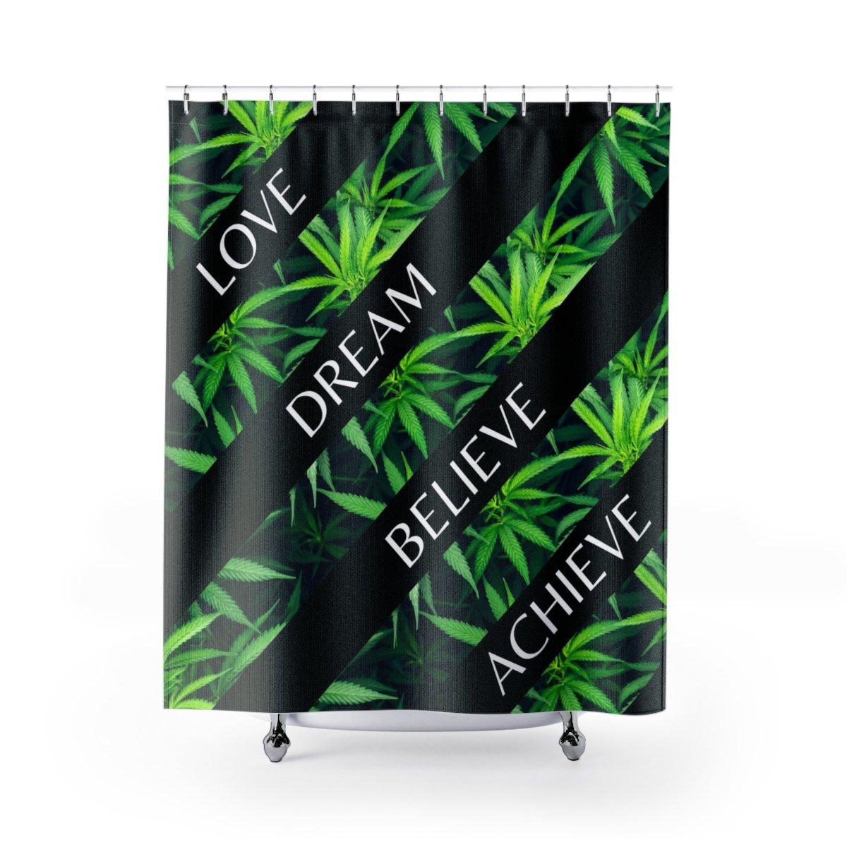 My Cannabis Inspiration Shower Curtain