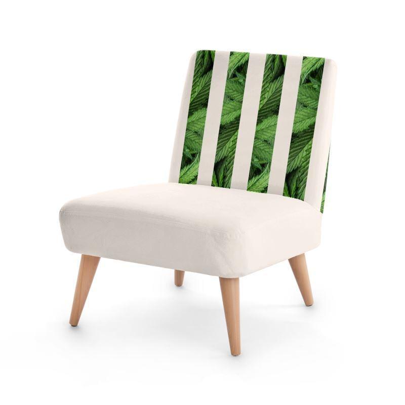 Foglia Di Cannabis Designer Chair