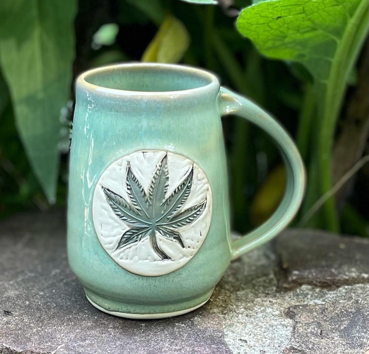 Handmade Ceramic Mug – Free Shipping!