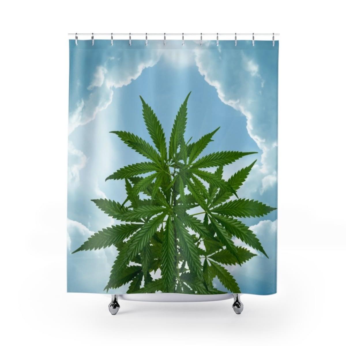 Cannabis Tra Le Nuvole Shower Curtains