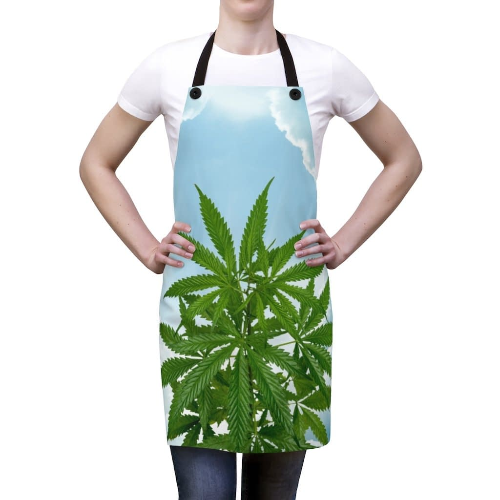 Cannabis Tra Le Nuvole Apron