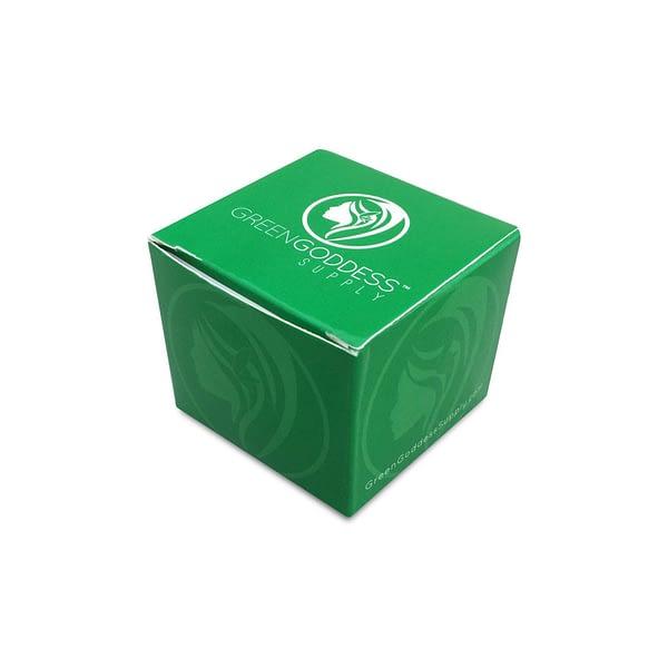 "2.5"" 4-Piece Aluminum Grinder - Green"