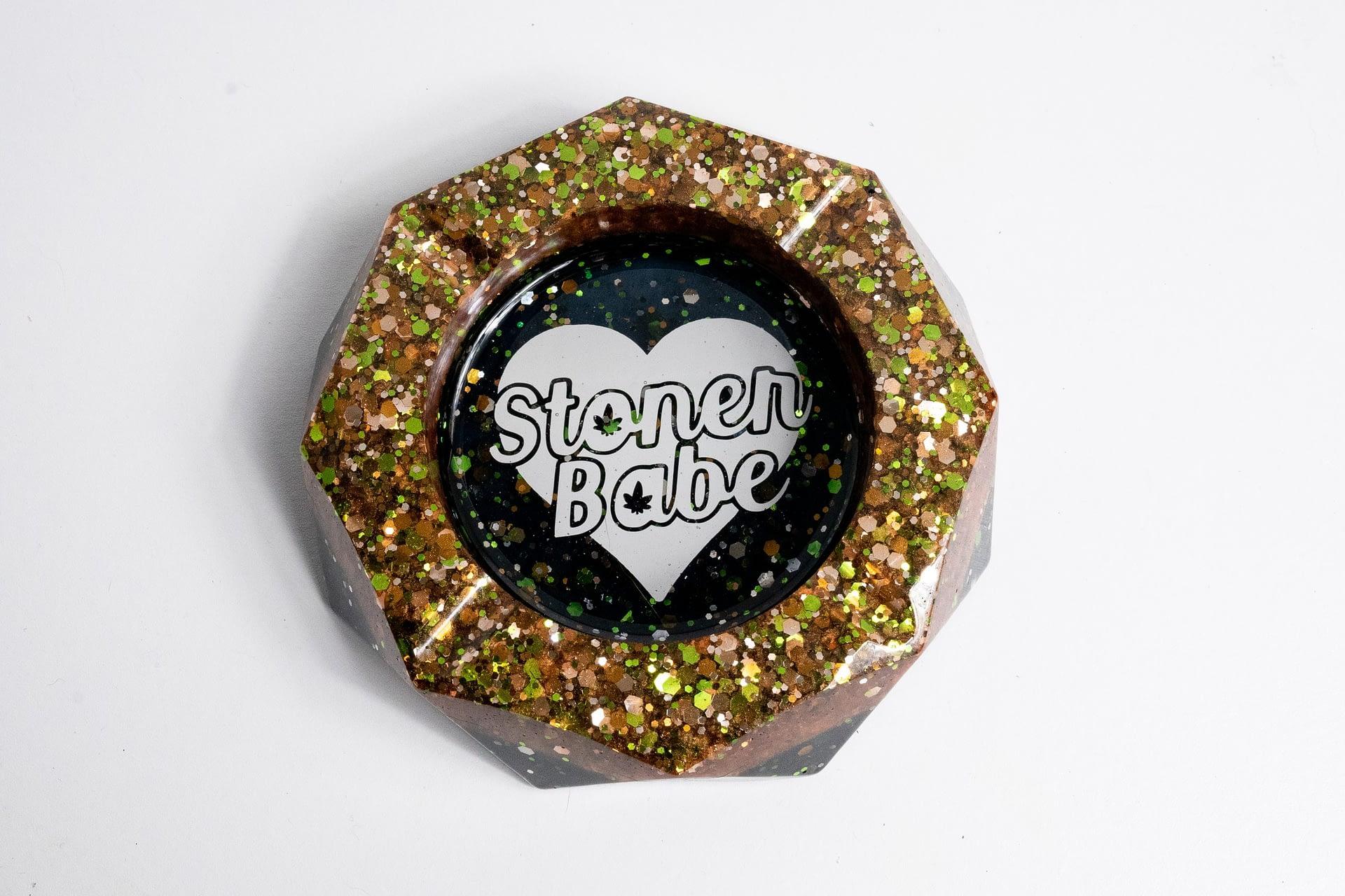 Stoner Babe Ashtray – Copper & Black