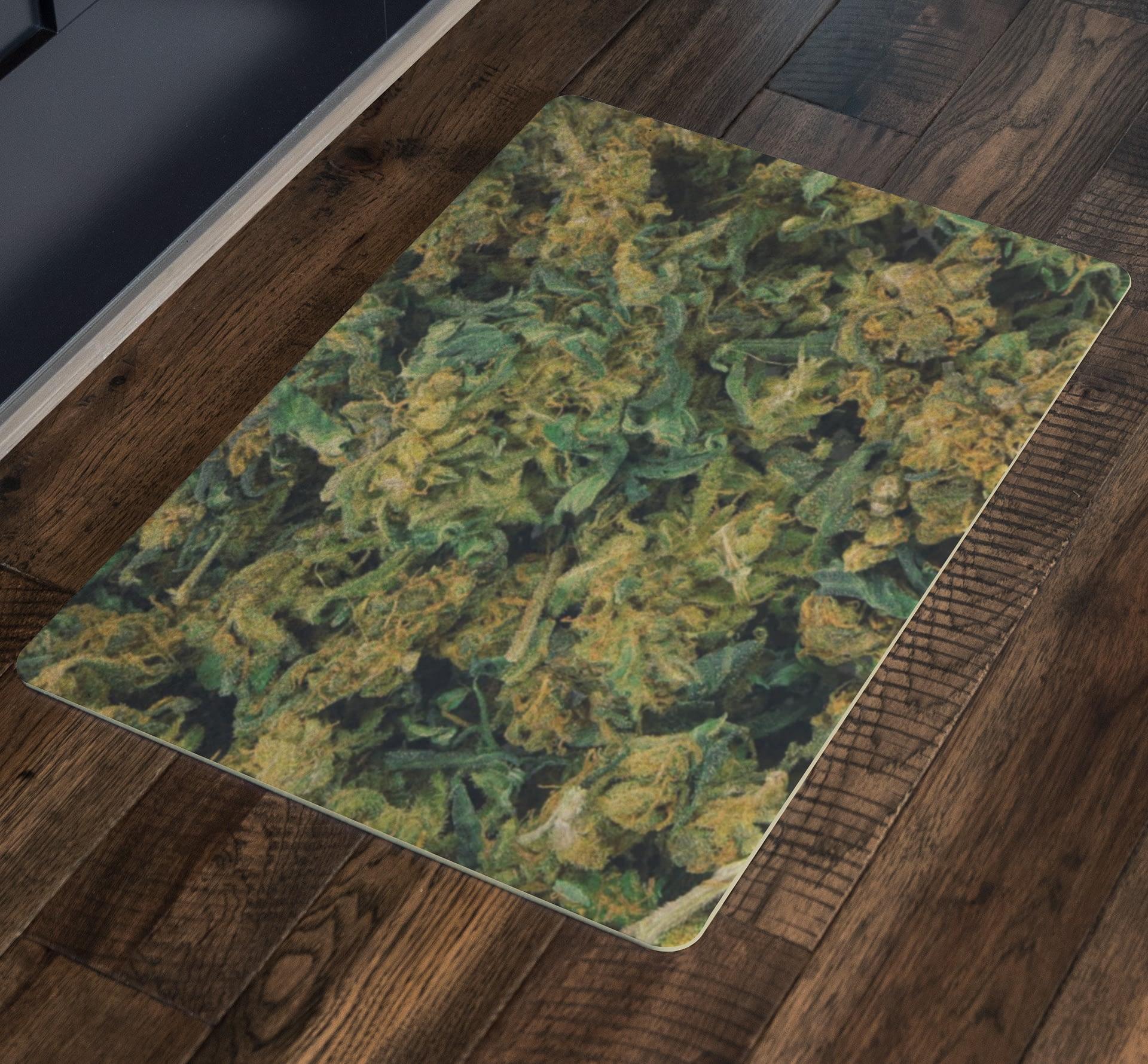 Cannabis Door Mat