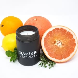 HAFlit Candle Citrus Haze thyme grapefruit