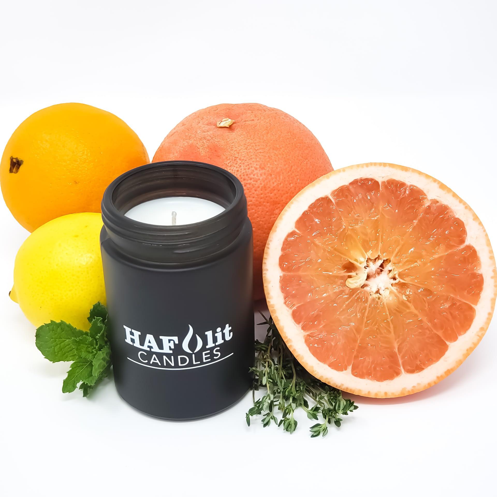 Citrus Haze by HAFlit Candles