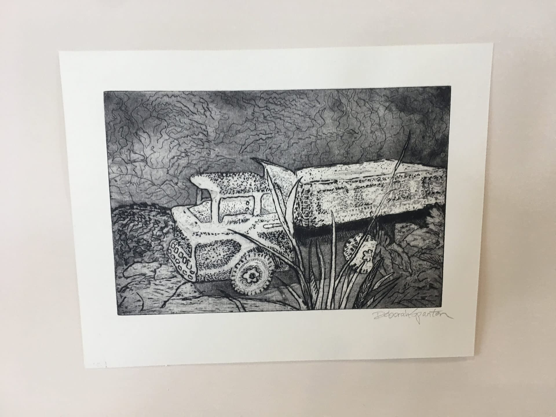 Etching: Truck edition 1 of 2