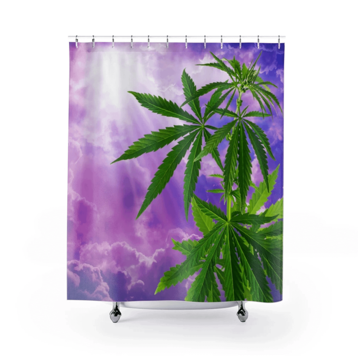Sogno Di Cannabis Shower Curtains