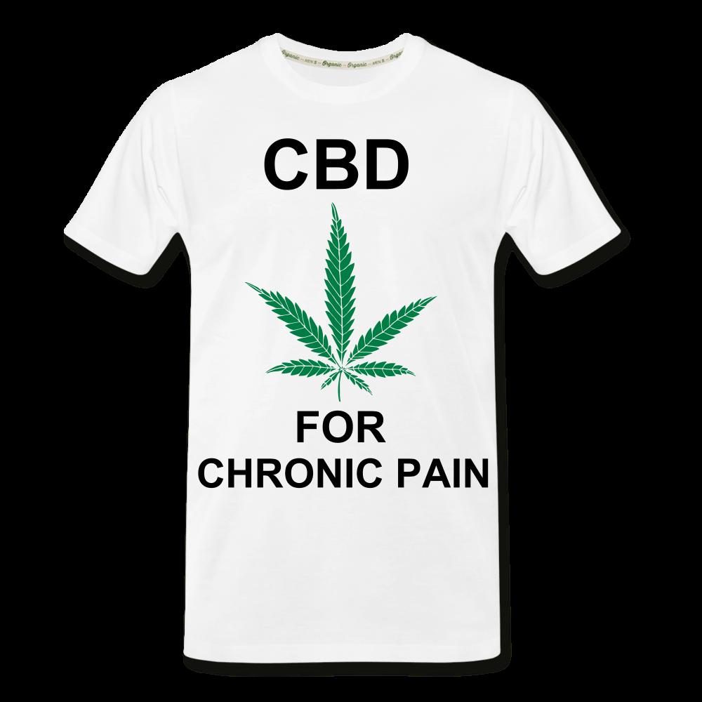 CBD For Chronic Pain Men's Organic T-Shirt