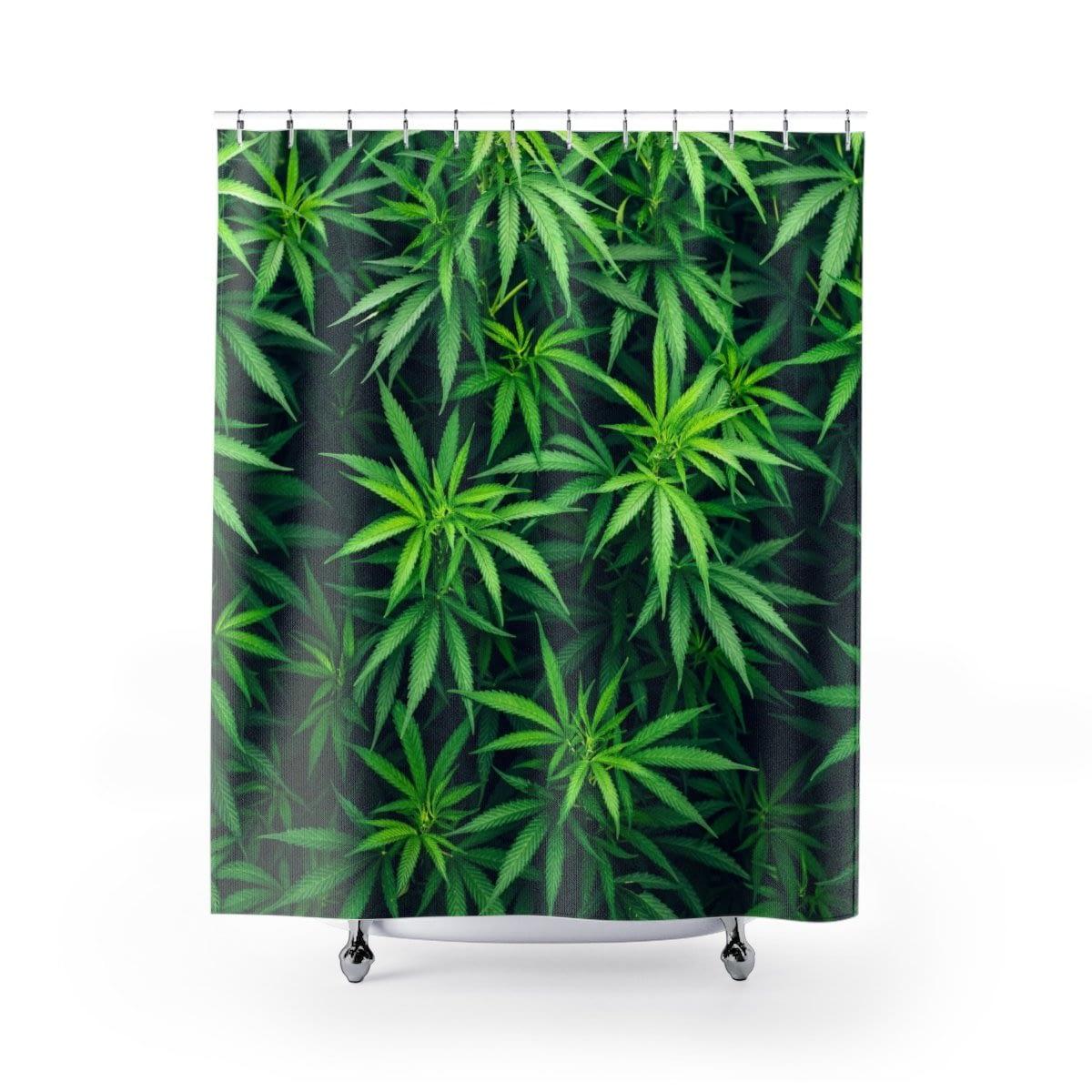 My Cannabis Shower Curtain