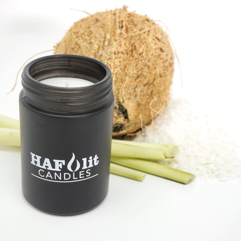 HAFlit Candle elevate coconut lemongrass