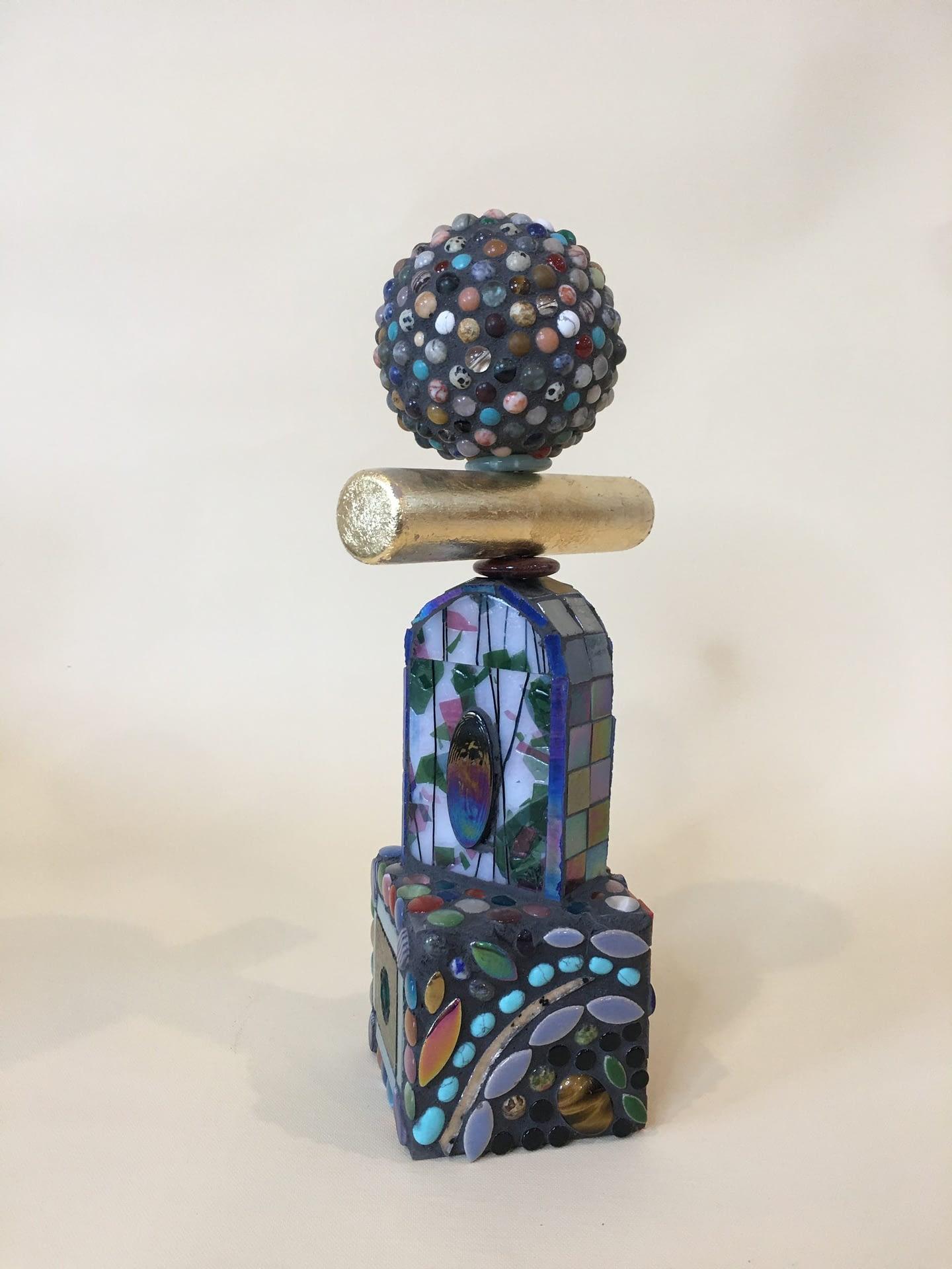 Glass Mosaic sculpture No. 2