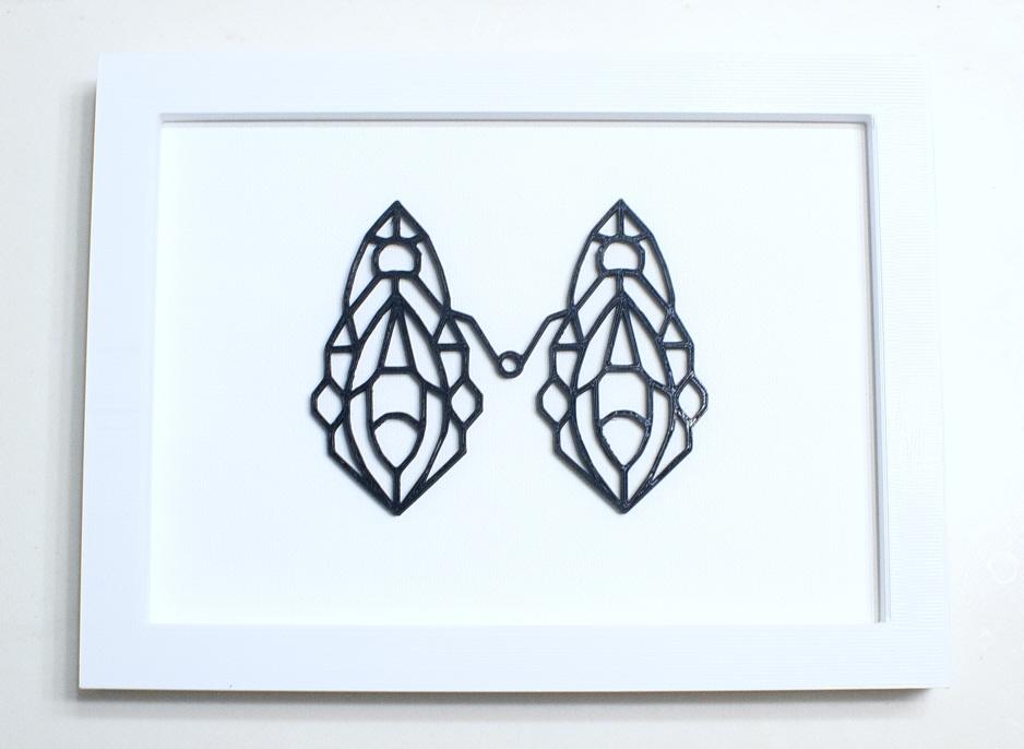 Vulva Couple Wall Art – FREE shipping