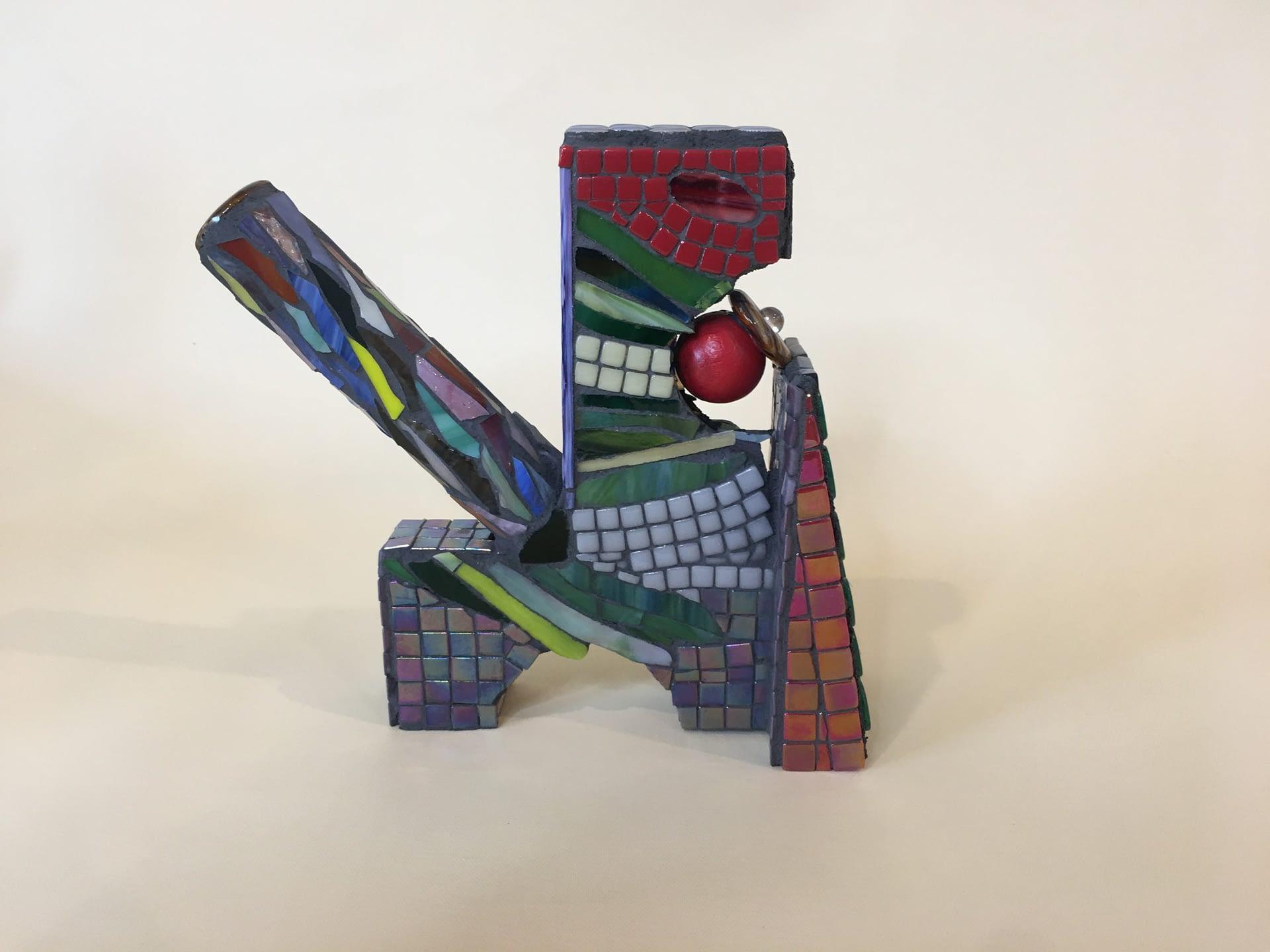 Mosaic sculpture No. 1